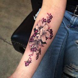 12 Tatuajes de flores con su significado